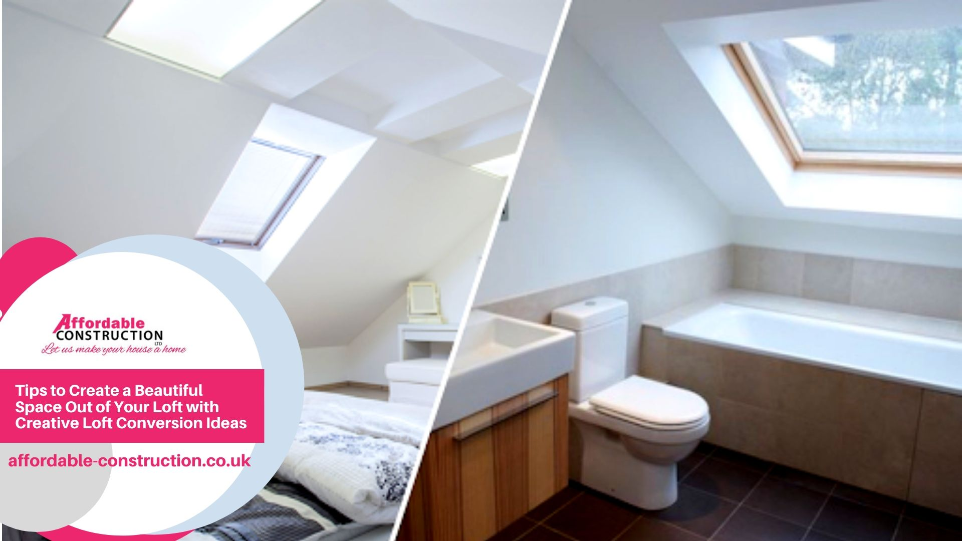 Tips to Create a Beautiful Space Out of Your Loft with Creative Loft Conversion Ideas
